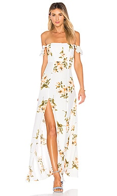 Bardot Maxi Dress FLYNN SKYE $198 BEST SELLER