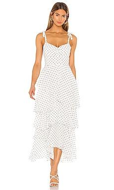 Leona Midi Dress FLYNN SKYE $218