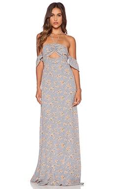 FLYNN SKYE Err Night Maxi Dress in Sherbert Daisy