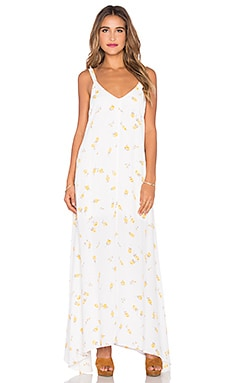 FLYNN SKYE Arrow Maxi Dress in Summer Light