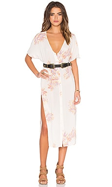 FLYNN SKYE Hunter Dress in Perfect Palm