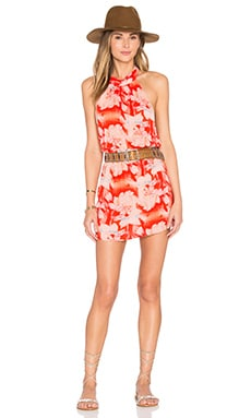 Poppy Dress in Flaming Moonshine