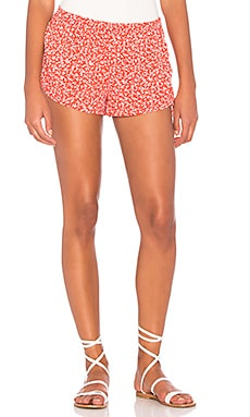 X REVOLVE Shannon Short in Persimmon Pansy
