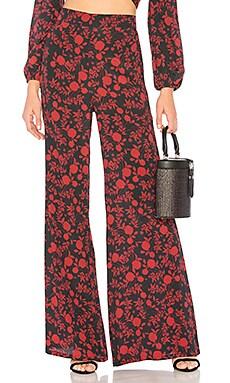Брюки ride or die - FLYNN SKYE, Стейтмент-брюки, США, Черный  - купить со скидкой
