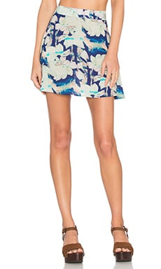 FLYNN SKYE It Skirt in Blue Moonshine