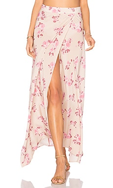Wrap It Up Skirt in Pink Dreams