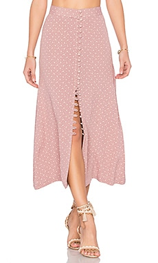Sophia Skirt in Mauve Cluster