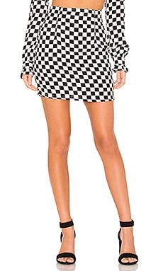 Suzie Mini Skirt FLYNN SKYE $23 (FINAL SALE)