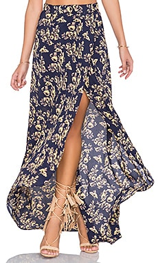 FLYNN SKYE SU2C x REVOLVE Wrap It Up Skirt in Twilight