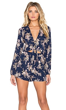 FLYNN SKYE Piper Romper in Midnight Magic