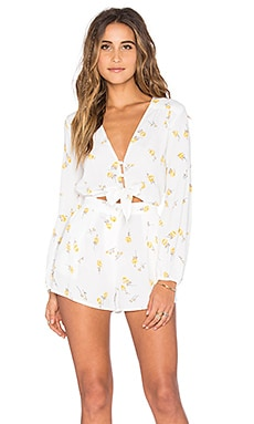 FLYNN SKYE Piper Romper in Summer Light