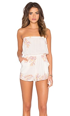 Sleeveless Bae Romper in Perfect Palm