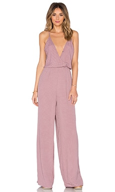 Dressy Jumpsuit in Blush Maze