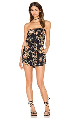 Bae Romper in Night Blossom