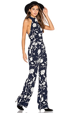 Ava Jumpsuit in Deep Abyss