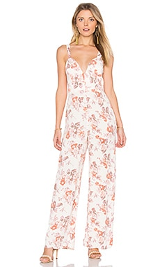 Ariel Jumpsuit in Cream Blossom