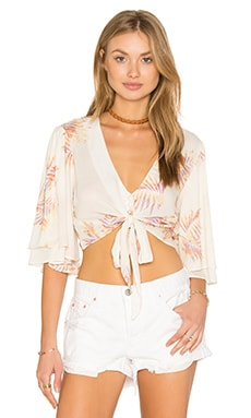 Lilly Top en Perfect Palm