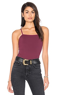 Marley Bodysuit in Burgundy