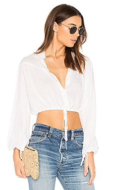 Thea Top in White Sand