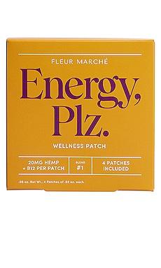 Energy, Plz CBD Patch 4 Count Fleur Marche $22 베스트 셀러