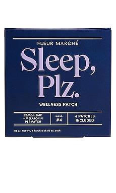 Sleep, Plz CBD Patch 4 Count Fleur Marche $22 베스트 셀러