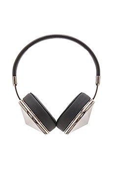 Taylor Headphones in Gunmetal Rose & Black