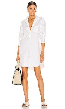 Mary Woven Button Up Dress Frank & Eileen $298