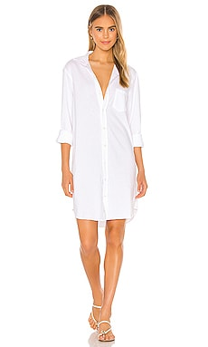 Relaxed Button Down Shirt Dress Frank & Eileen $248