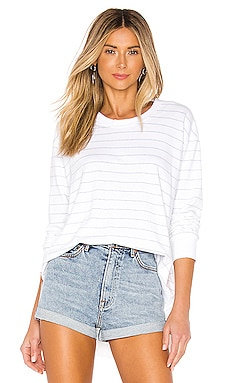 Tee Lab Graceful Lightweight Sweatshirt Frank & Eileen $172 BEST SELLER