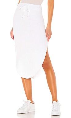 Tee Lab Long Fleece Skirt Frank & Eileen $165