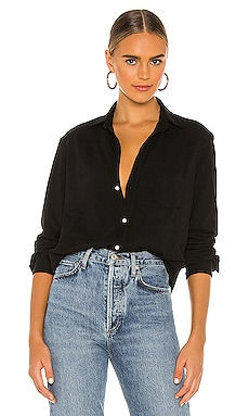Eileen Knit Button Down Shirt Frank & Eileen $218 BEST SELLER