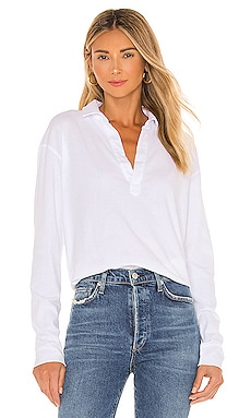 Popover Top Frank & Eileen $148 BEST SELLER