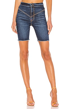 Gigi Denim Biker Short Frankie B $88