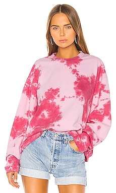 Sinead Boyfriend Crew Sweatshirt Frankie B $270