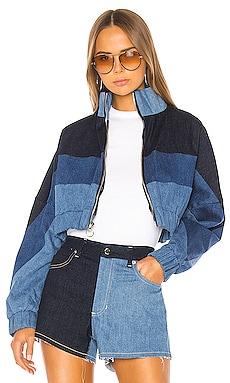 Chloe Denim Track Jacket Frankie B $257