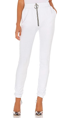 Alaina Ring Zip High Sweatpants Frankie B $215