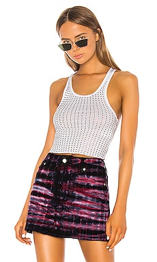 Sade Crystals Cropped Tank Frankie B $150 NEW ARRIVAL