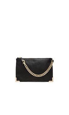 Foley + Corinna Framed Wristlet Clutch in Black