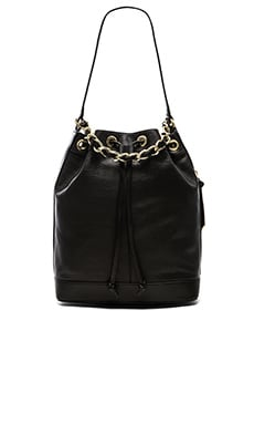 Foley + Corinna Billy Bucket Bag in Black
