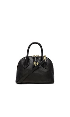 Foley + Corinna Cassis Mini Satchel in Black