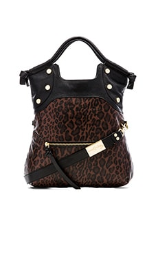 Foley + Corinna Lady Tote in Brown Leopard