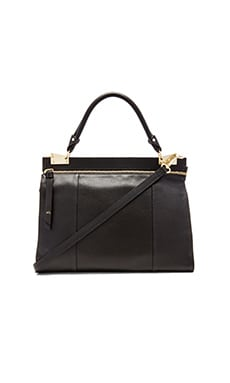 Foley + Corinna Dione Messenger in Black
