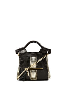 Foley + Corinna Tiny City Bag in Chalk Snake Combo