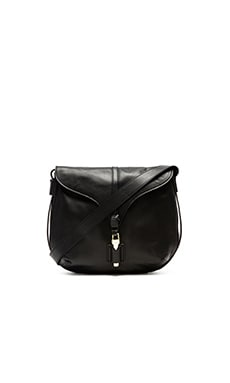 Foley + Corinna Arrow Crossbody in Black