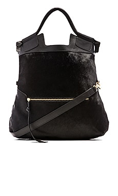 Foley + Corinna Mid City Bag in Black Haircalf