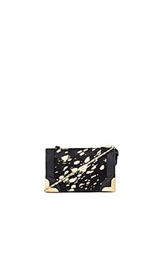 Foley + Corinna Genesis Petite Crossbody in Gold Flecked Haircalf