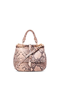 Dione Cerberus Saddle Bag en Crush Snake