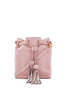 Sascha Drawstring Bucket Bag in Crush