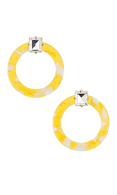 Afton Lucite Earrings For Love & Lemons $38
