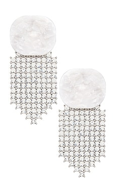 Auburn Crystal Earrings For Love & Lemons $114